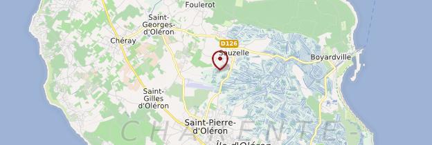 Carte Île d'Oléron - Poitou, Charentes