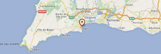 Carte Lagos - Portugal