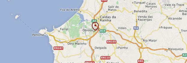 Carte Óbidos - Portugal