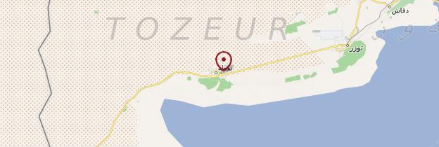Carte Nefta - Tunisie