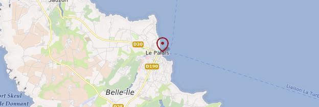 Carte Belle-Île-en-Mer (Guedel) - Bretagne
