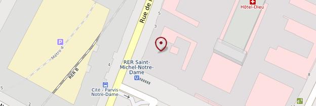 Carte Île de la Cité - Paris