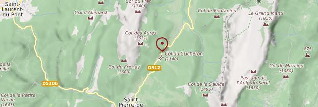 Carte Massif de la Chartreuse - Alpes
