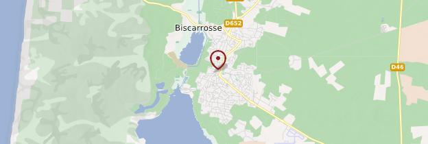 Carte Biscarrosse - Aquitaine