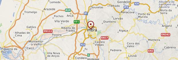 Carte Coimbra - Portugal