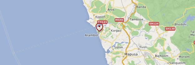 Carte Arambol - Goa