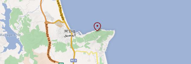 Carte Cabo Negro - Maroc