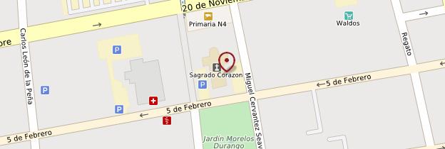 Carte Catedral de Durango - Mexique