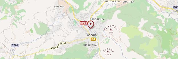 Carte Ascain - Pays basque et Béarn