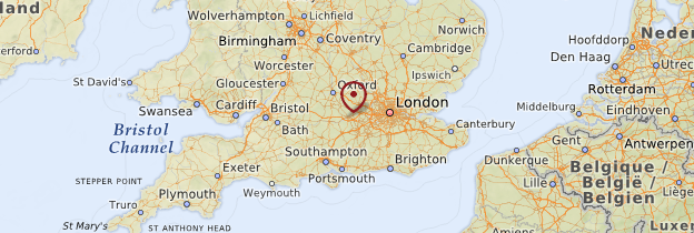 Carte Reading Angleterre.Reading Region De Londres Guide Et Photos Angleterre