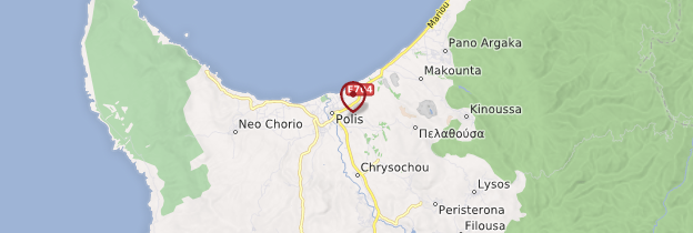 Carte Polis - Chypre