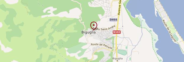 Carte Biguglia - Corse