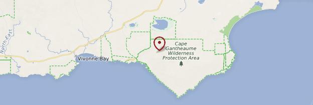 Carte Little Sahara - Australie