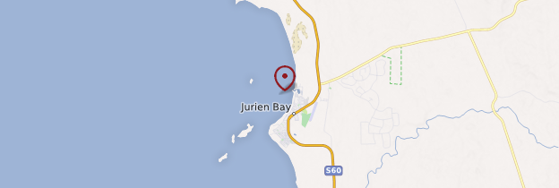 Carte Jurien Bay - Australie