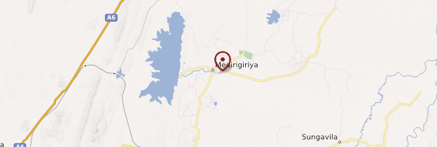 Carte Medirigiriya - Sri Lanka