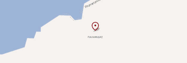 Carte Palamidas - Îles grecques