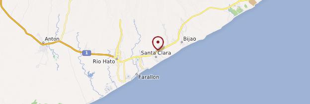 Carte Santa Clara - Panama