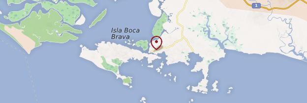 Carte Boca Chica - Panama