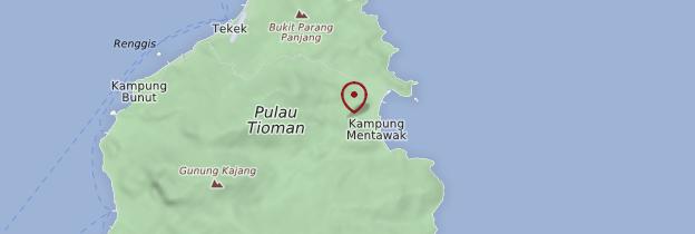 Carte Kampong Juara - Malaisie