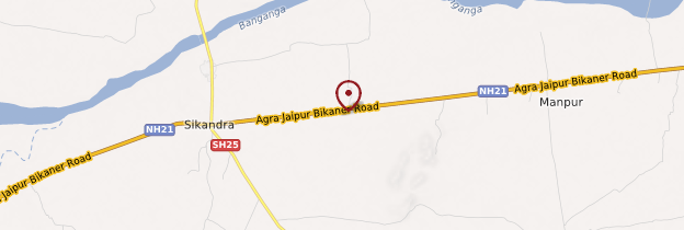 Carte Abhaneri - Rajasthan