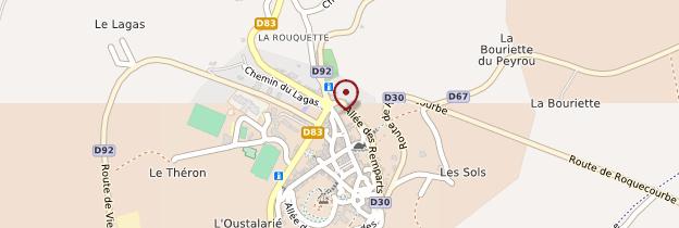 Carte Lautrec - Midi-Pyrénées