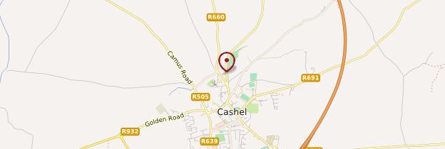 Carte Rock of Cashel - Irlande