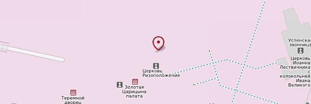 Carte Église de la Déposition-de-la-robe-de-la-Vierge - Moscou