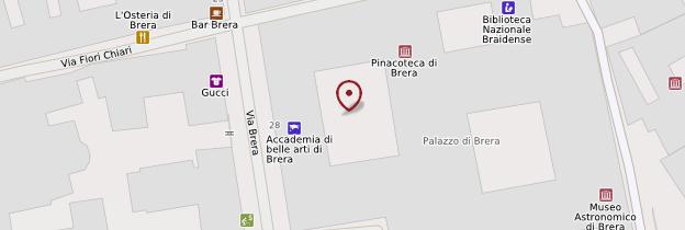 Carte Pinacoteca di Brera - Milan