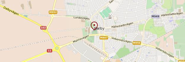 Carte Eglise de Dalby - Suède