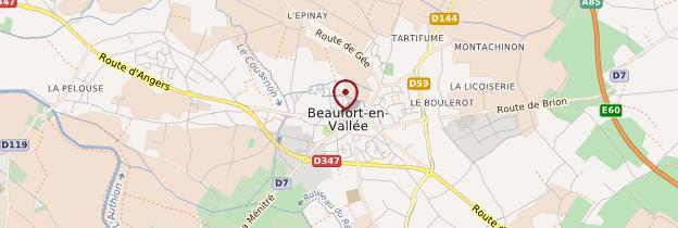Carte Beaufort-en-Vallée - Pays de la Loire