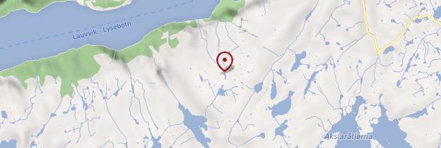 Carte Kjeragbolten - Norvège