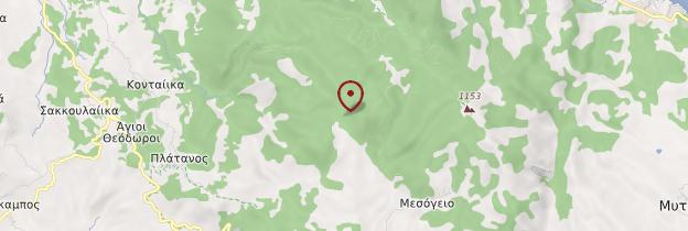 Carte Île de Samos - Îles grecques