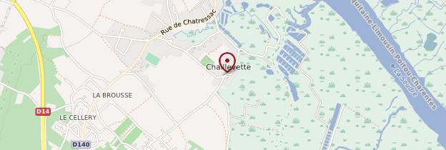 Carte Chaillevette - Poitou, Charentes