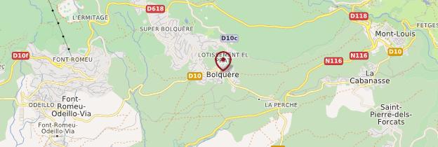 Carte Bolquère - Languedoc-Roussillon