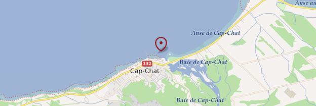 Carte Cap-Chat - Québec