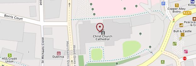 Carte Christ Church Cathedral - Dublin