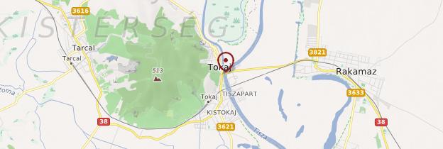 Carte Tokaj - Hongrie