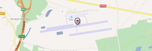 Carte Aéroport d'Angers-Marcé - Pays de la Loire