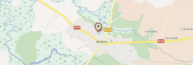 Carte Ambon - Bretagne