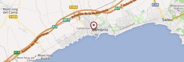 Carte Barcelone Cambrils.Cambrils Costa Daurada Et Tarragone Guide Et Photos