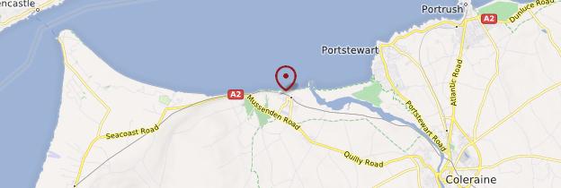 Carte Castlerock - Irlande