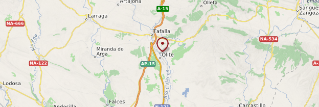 Carte Olite - Espagne