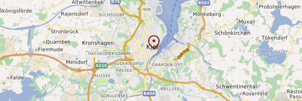 Carte Allemagne Kiel.Kiel Hambourg Et Le Schleswig Holstein Guide Et Photos