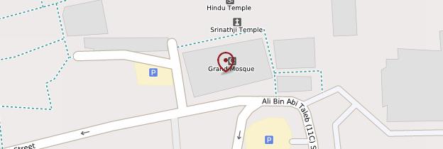 Carte Grande mosquée de Dubaï - Dubaï