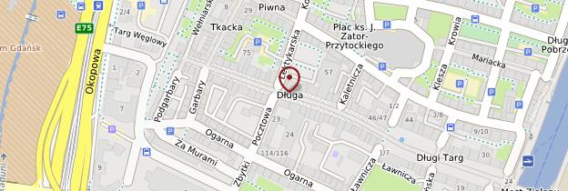 Carte Długa Ulica (Rue-Longue) - Pologne